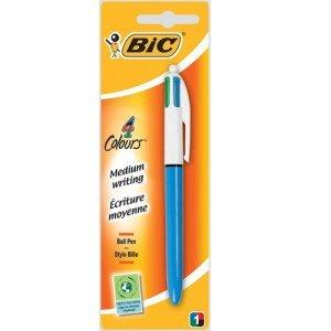 BIC 4 Colour Ballpoint Pen