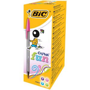 BIC Cristal Fun Pens-20pack