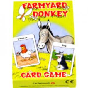 Cartamundi Cards Farmyard-Donkey