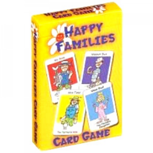 Cartamundi Cards-Happy Families