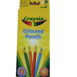Crayola Full Length Coloured Pencils-12pack