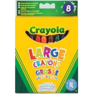 Crayola Large Washable Crayon -8pack