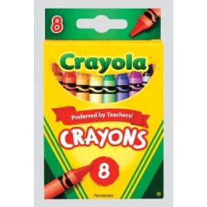 Crayola Washable Crayons-8pack