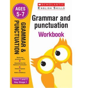 Grammar And Punctuation Workbook-Year-1-and-2 -Scholastic-9781407140704