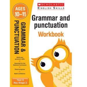 Grammar And Punctuation Workbook-Year 6- Scholastic-9781407140742