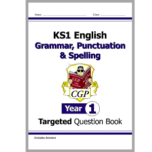 KS1 English Targeted Question Book Grammar, Punctuation & Spelling - Year 1 9781782941910