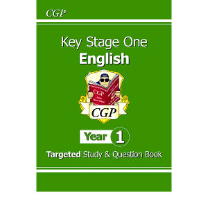 KS1 English Targeted Study & Question Book - Year 1- 9781789084214