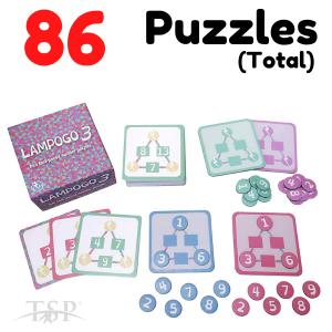 Lampogo 3 Maths Game -0745114683205-