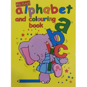 My First Alphabet And Colouring Book - WF Graham