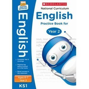 National Curriculum English Practice Book For Year 2-100 Practice Activities-Scholastic -9781407128955