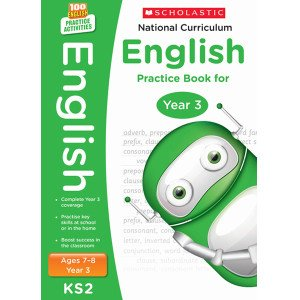 National Curriculum English Practice Book For Year 3-100 Practice Activities-Scholastic 9781407128962