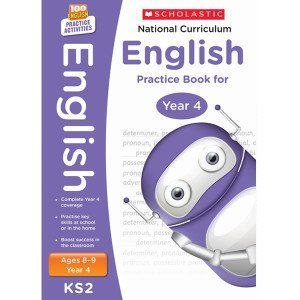 National Curriculum English Practice Book For Year 4-100 Practice Activities-Scholastic 9781407128979