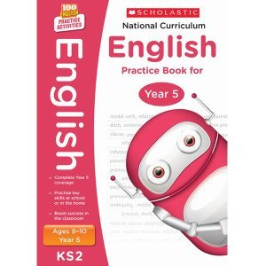 National Curriculum English Practice Book For Year 5-100 Practice Activities-Scholastic 9781407128986
