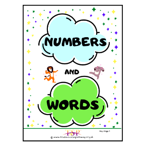 Numbers And Words Book For KS1
