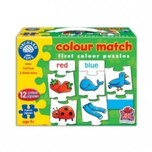 Orchard Toys Colour Match Jigsaw Puzzle