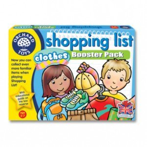 Orchard Toys Shopping List-Clothing Booster Pack