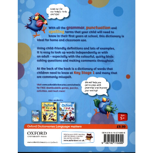 Oxford First Grammar, Punctuation And Spelling Dictionary-9780192745699