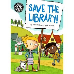 Reading Champion - Save The Library -9781445163093