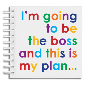 Square Notebook – Boss