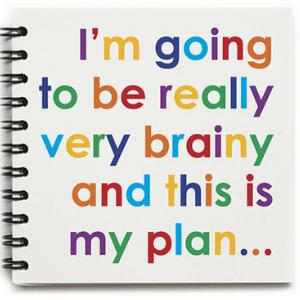 Square Notebook – Really Very Brainy