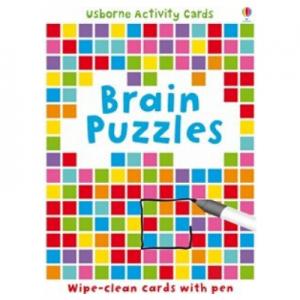 Usborne Brain Puzzles Activity Cards