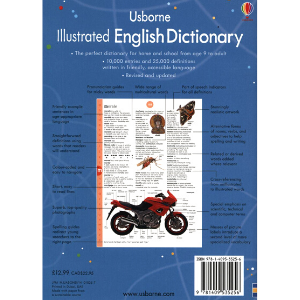 Usborne Illustrated English Dictionary- 9781409535256