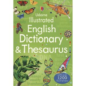 Usborne Illustrated English Dictionary & Thesaurus - 9781409584360