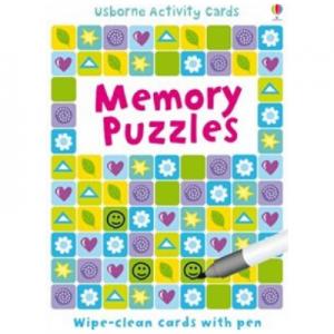 Usborne Memory Puzzles Activity Cards