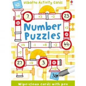 Usborne Number Puzzles Activity Cards