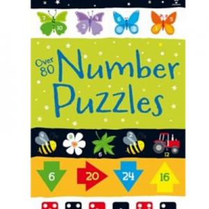 Usborne-Over 80 Number Puzzles