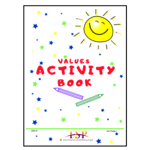 Values Activity Book for KS1