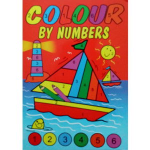 WF Graham - Colour By Numbers Book 3