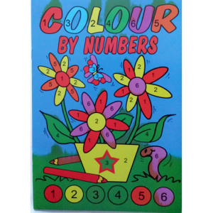 WF Graham - Colour By Numbers Book 4