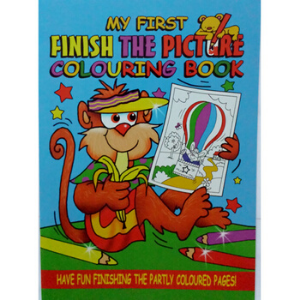WF Graham -Finish The Picture Colouring Book 2