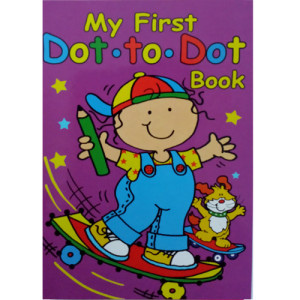 WF Graham- My First Dot To Dot Activity Book 1