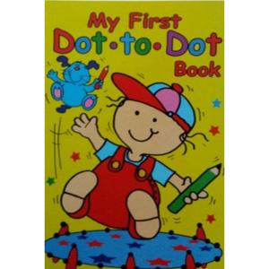 WF Graham- My First Dot To Dot Activity Book 3